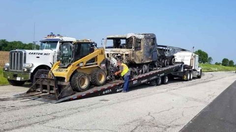 Heavy Equipment Hauling Central IL